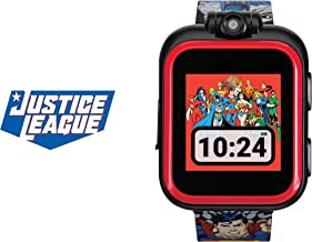 Justice League Smartwatch for Kids by iTouch PlayZoom – Swivel Camera with Video..