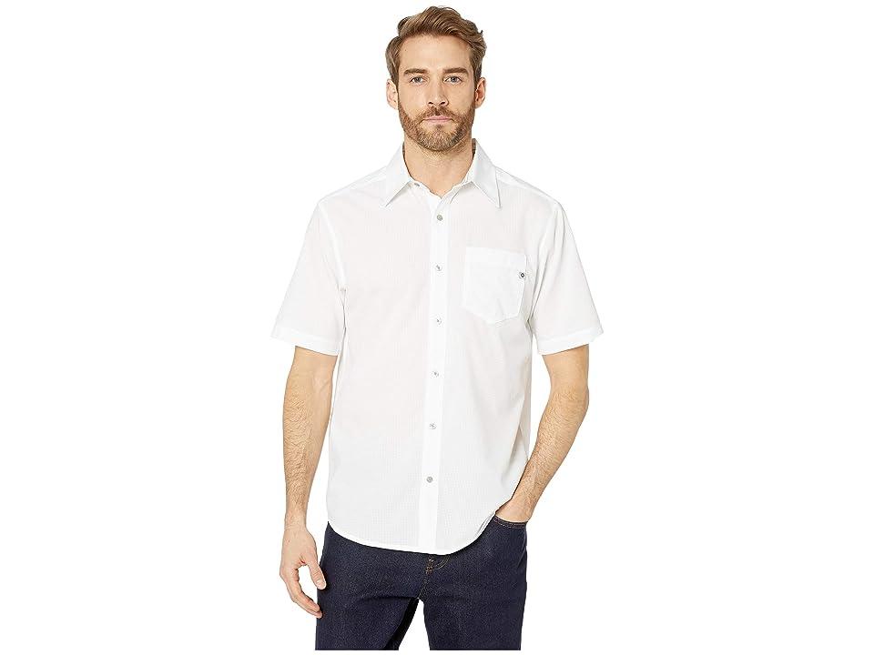 Marmot Aerobora Short Sleeve Shirt (White) Men