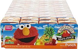 Apple & Eve Sesame Street Elmo's Punch, 8 Boxes of 4.23 Fluid-oz., Pack of 5