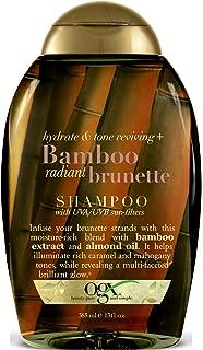 Ogx Shampoo Bamboo Radiant Brunette 13 Ounce (385ml) (3 Pack)