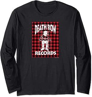 Death Row Records Buffalo Square Long Sleeve T-shirt