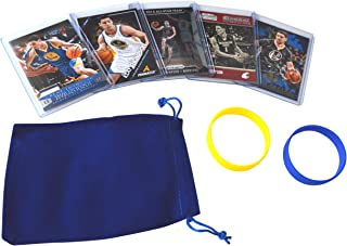 Klay Thompson (5) Assorted Basketball Cards Bundle - Golden State Warriors Trading Cards - # 11