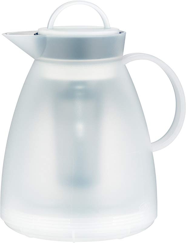 Kaiser Alfi 31935011100 Dan Stainless Steel Matte Finish 8 Cup 1 Liter Coffee And Tea Carafe With Tea Filter