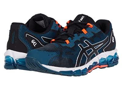ASICS Kids GEL-Quantum 360 6 (Big Kid) (Magnetic Blue/Black) Boys Shoes
