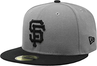 New Era 59Fifty Hat San Francisco Giants Basic Storm Gray Fitted Cap 11167442