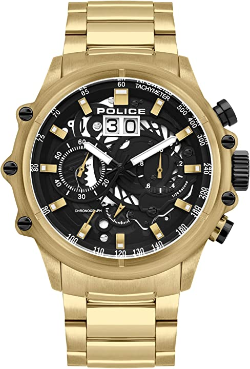 Orologio police parure di gioielli pl16018jsg.02m