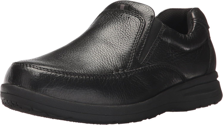 Nunn Bush Hommes's Cam Slip-On Loafer, noir, 10.5 4W US