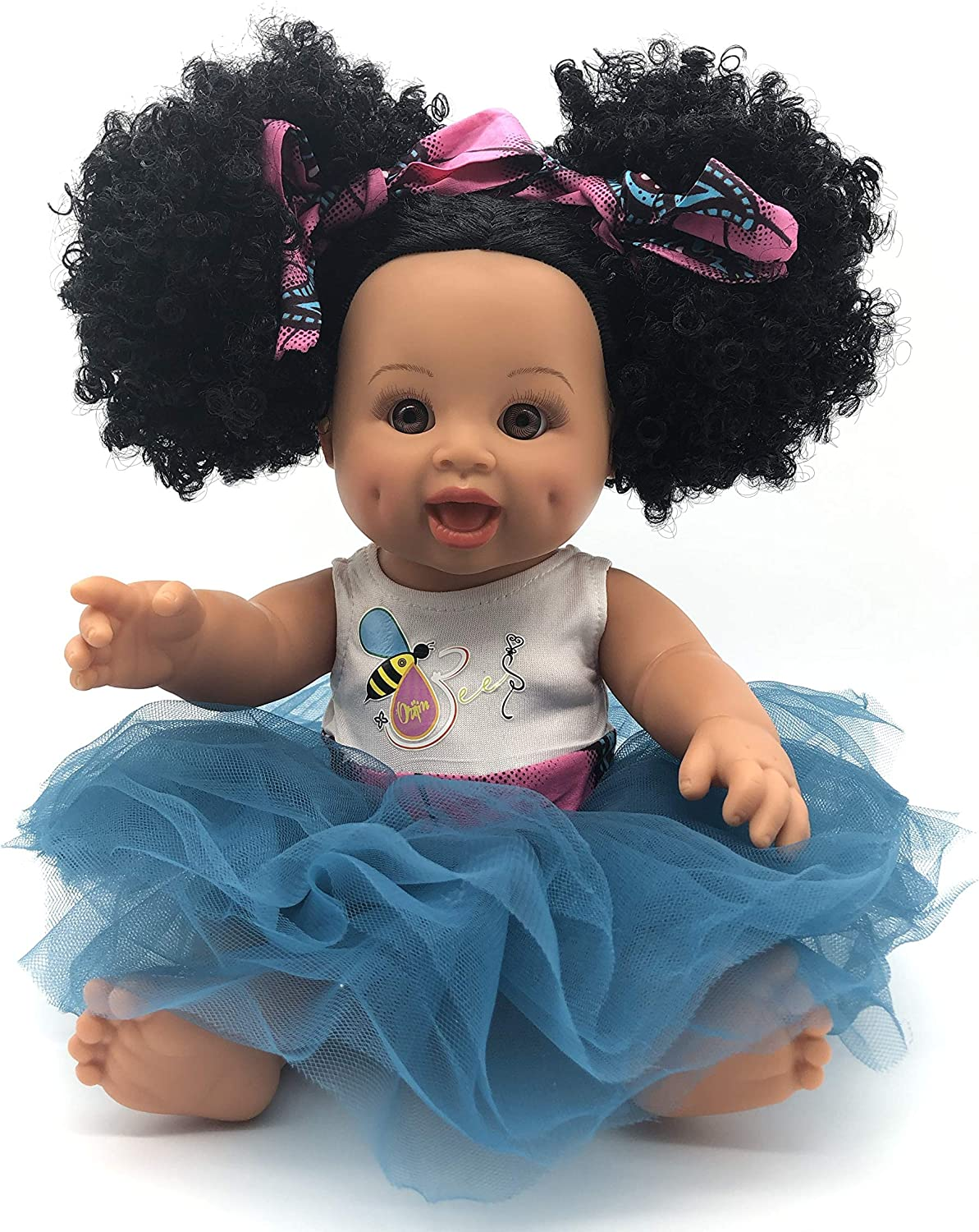 Sweet Puffy Bee African American Direct sale of manufacturer Mixed Black Hispanic Rac Latino Max 72% OFF
