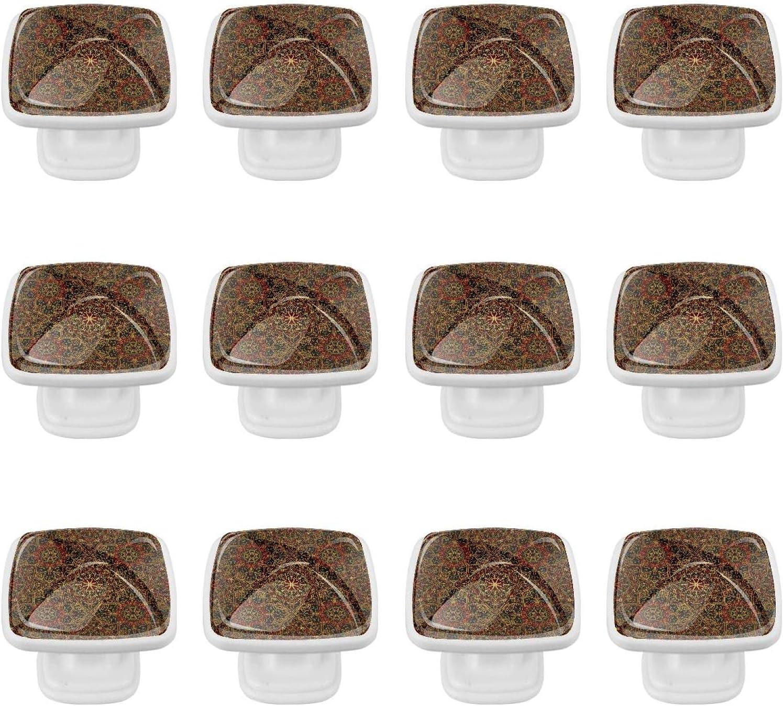 Kitchen Cabinet Knobs - Dark Ranking TOP9 Oriental Medieval Pattern 1.18 In a popularity