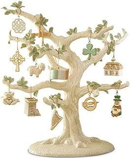 Lenox Luck Of The Irish Miniature Tree Ornaments Set 12 St Patrick's Day Leprechaun NO TREE