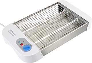 comprar comparacion Orbegozo TO 1010 - Tostador horizontal, calienta repostería, tipo multipan, bandeja recogemigas, temporizador, 600 W