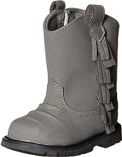 Baby Deer Western Fringe Toddler Boot