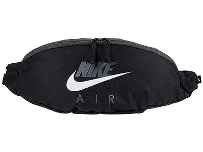 Nike Heritage Hip Pack Air Graphic (Black/Iron Grey/White) Handbags