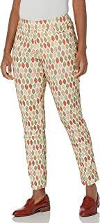 SLIM-SATION Women's Print Ankle Pant