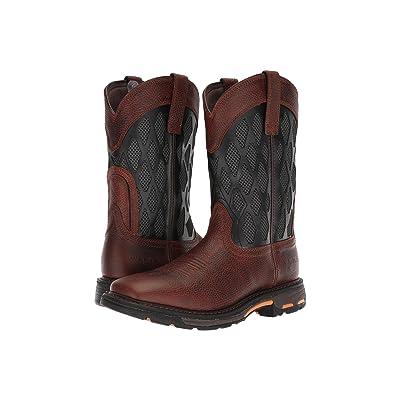 Ariat Workhog Matrix VentTEK (Brown Ruddy/Charcoal) Cowboy Boots