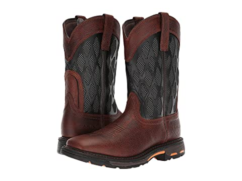 Workhog Charcoal Brown Matrix Ariat VentTEK Ruddy pxvdx7qXwn