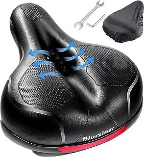 Blurziner Bike Seat Cushion for Men Comfort, Bike Seat...