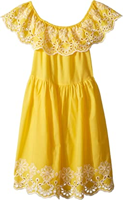 Bella Broderie Dress (Big Kids)