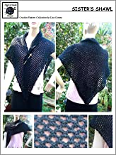 Sister's Shawl - Crochet Pattern #132 for Shawl, Shoulder Wrap