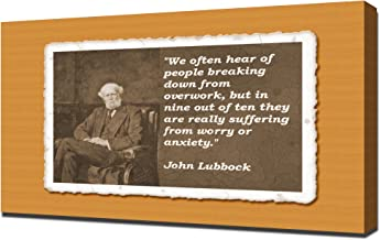 John Lubbock Quotes 5 - Canvas Art Print