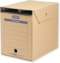 Elba 83525 Tric System Lot de 6 boîtes de rangemen