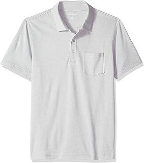 Amazon Essentials Men's Slim-fit Jersey Pocket Polo Shirt