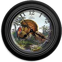 "Reflective Art Full Display 10"" Classic Clock"