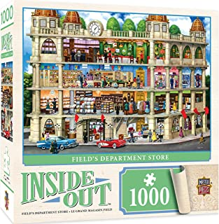 MasterPieces Inside Out Jigsaw Puzzle, Fields Department Store, Featuring Art by Sergio, 1000 Pieces
