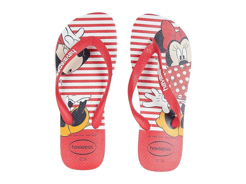 Havaianas Disney Stylish Flip Flops (White) Women