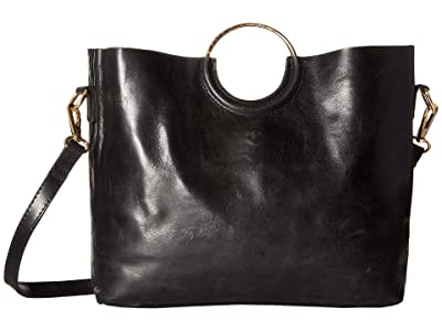 ABLE Fozi Handbag (Black) Handbags