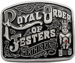 Best jester belt buckle Reviews