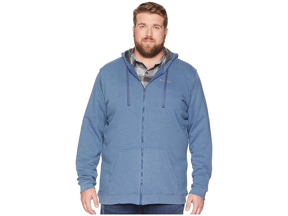 Columbia Big Tall Hart Mountaintm Full Zip Hoodie (Dark Mountain Heather) Men