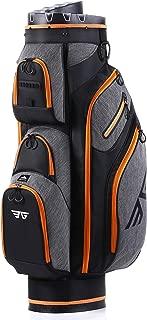 EG EAGOLE Clubs-in 14 Way Organizer Divider Top Premium Golf Cart Bag