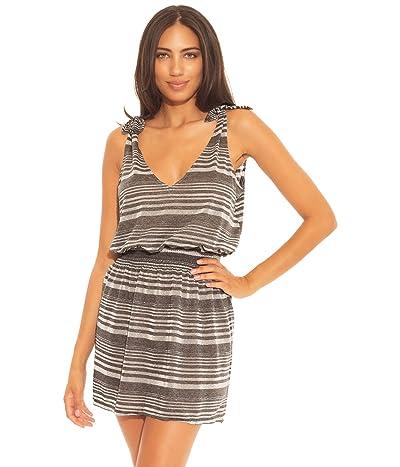 BECCA by Rebecca Virtue Shimmer Tie Shoulder Dress