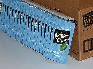FLAVIA Bright Tea Co. Peppermint Herbal Tea, 20-Count Fresh Packs (Pack of 1)
