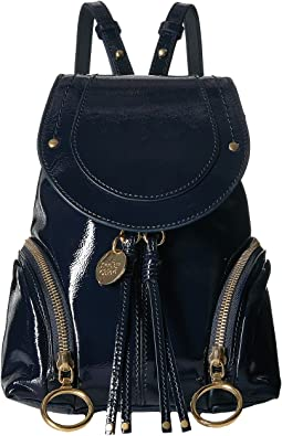 Olga Mini Patent Backpack