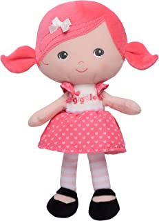 Baby Starters Plush Snuggle Buddy Baby Doll, Interactive Giggly Jilly