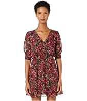 The Kooples - Raspberry Love Print Short Dress
