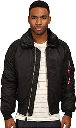 Alpha Industries B-15 Flight Jacket Slim Fit
