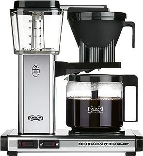 Moccamaster KBG 741 Select Kaffemaskin, Silver