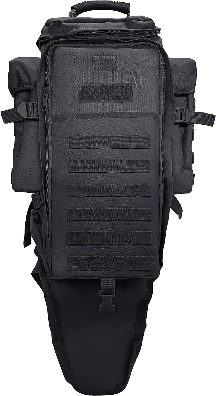 Silfrae Industry No. 1 Boston Mall Tactical Rifle Backpack Long Bag Ba Molle Military