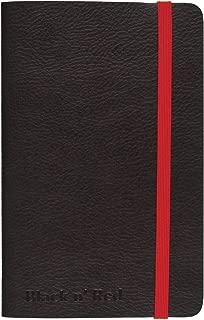 Black n' Red Casebound Soft Cover Journal Notebook, Medium, Black, 71 Ruled Sheets, Pack of 1 (400065000)