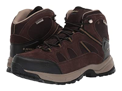 Hi-Tec Red Rock Mid Waterproof (Dark Chocolate/Dull Gold) Men