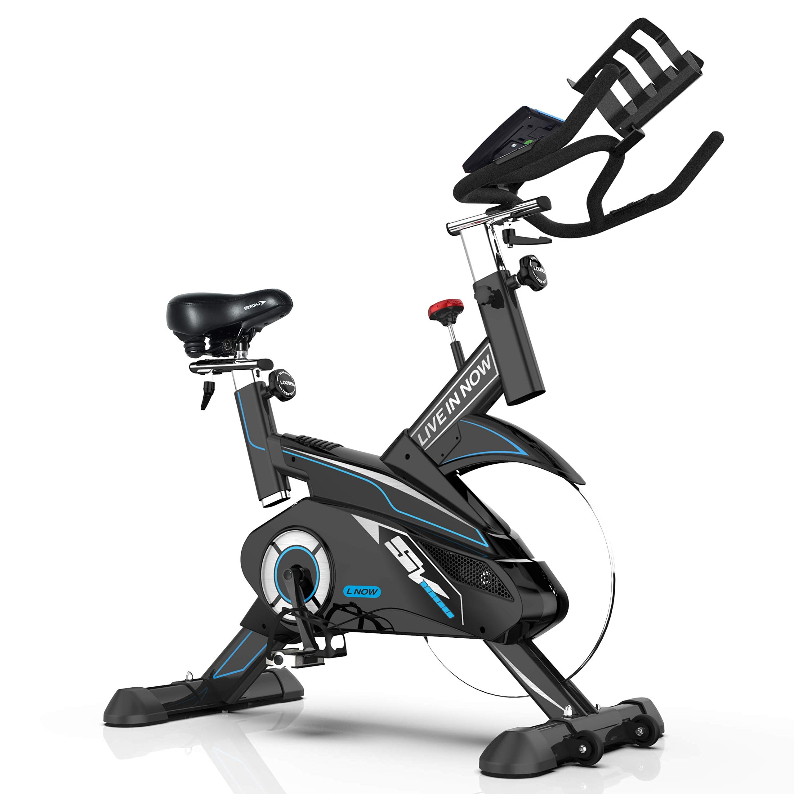 L Now Bicicleta de ciclismo para interiores – Sistema profesional ...