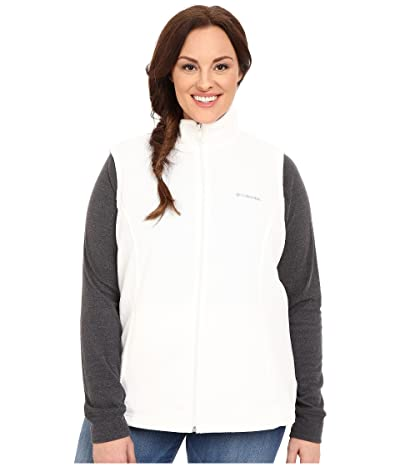 Columbia Plus Size Benton Springstm Vest (Sea Salt) Women
