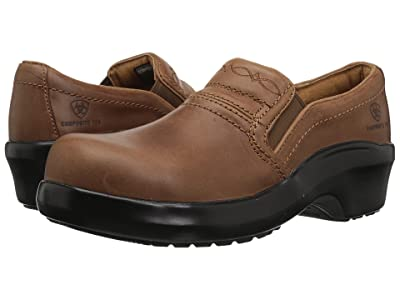 Ariat Expert Safety Clog Composite Toe (Brown) Women