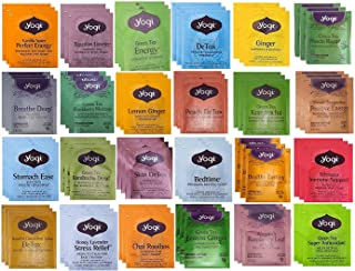 YOGI TEA SAMPLER 24 FLAVORS (72 TEA BAGS)