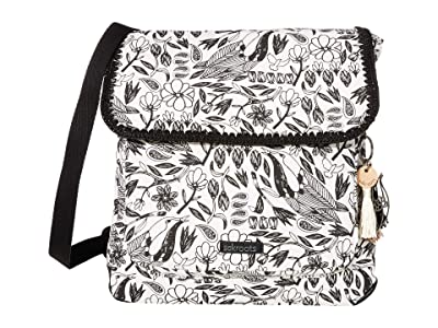 Sakroots Artist Circle Convertible Backpack (Black Peace Birds) Backpack Bags