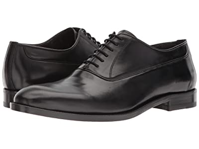 Canali Plain Toe Oxford (Black) Men