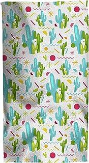Giggle Beaver Super-Dimensioni Cactus Telo da Spiaggia Multicolore